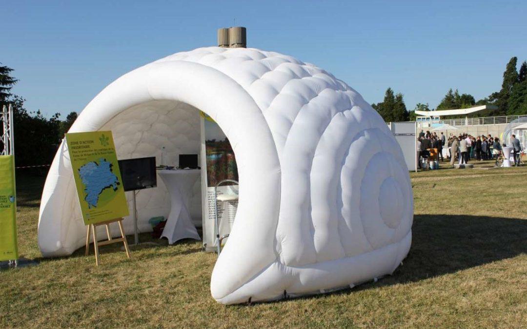 Ce qu'un igloo gonflable peut apporter à vos évènements