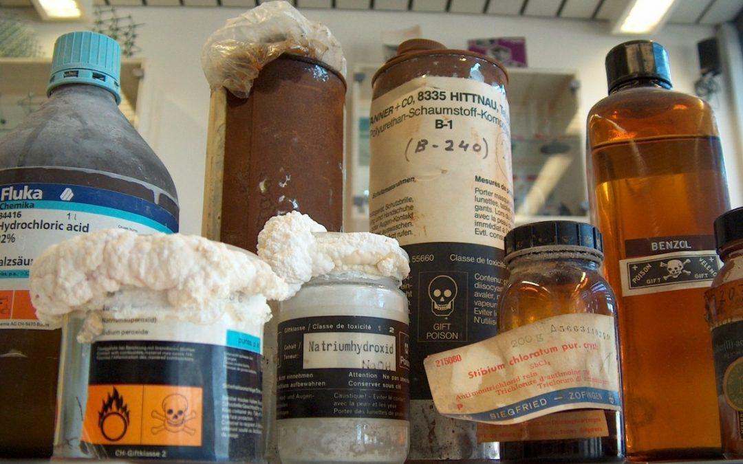 L'usage des produits chimiques au quotidien